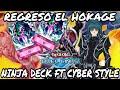 Eh regresado junto con los ninjas, ninja deck - YU-GI-OH DUEL LINKS!!!