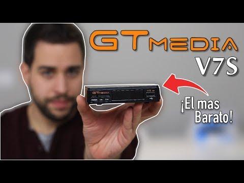 Freesat V7S - GTMedia V7S | Review y Tutorial - YouTube