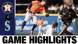 Astros vs. Mariners Game Highlights (9/1/21)