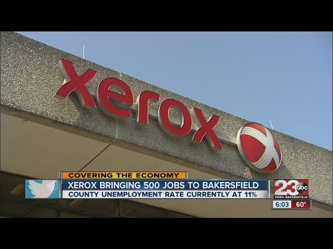 Xerox jobs to help offset Kern County unemployment