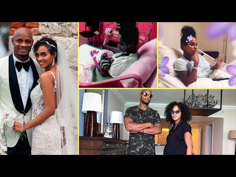 Asafa Powell Breaksdown & Celebrates His 1st Child With Wife Alyshia Powell