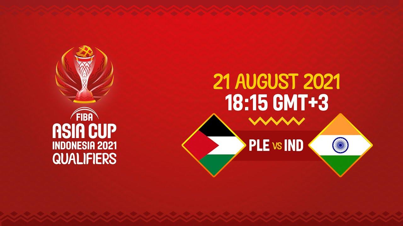 Palestine v India | Full Game - FIBA Asia Cup 2021 Qualifiers 2021