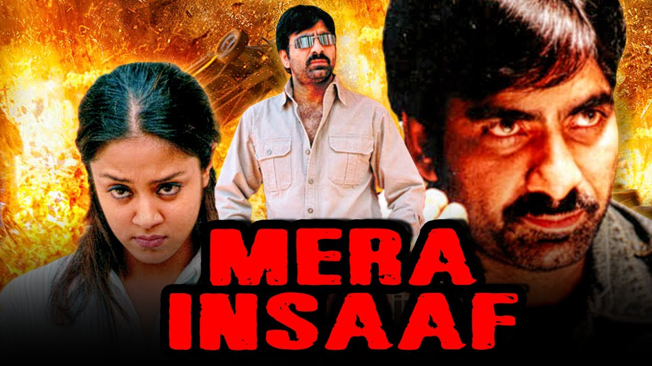 Ravi Teja's Mera Insaaf South Action Hindi Dubbed Full Movie | Jyothika, Tabu