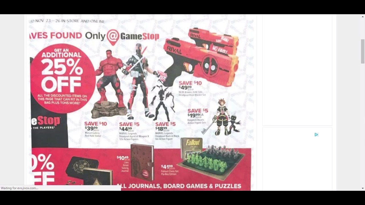 Gamestop Black Friday Ad 2017 Full Ad Amazing Gaming