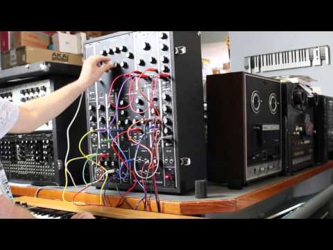 R.A. Moog Model 10 Modular Synthesizer at Switched On