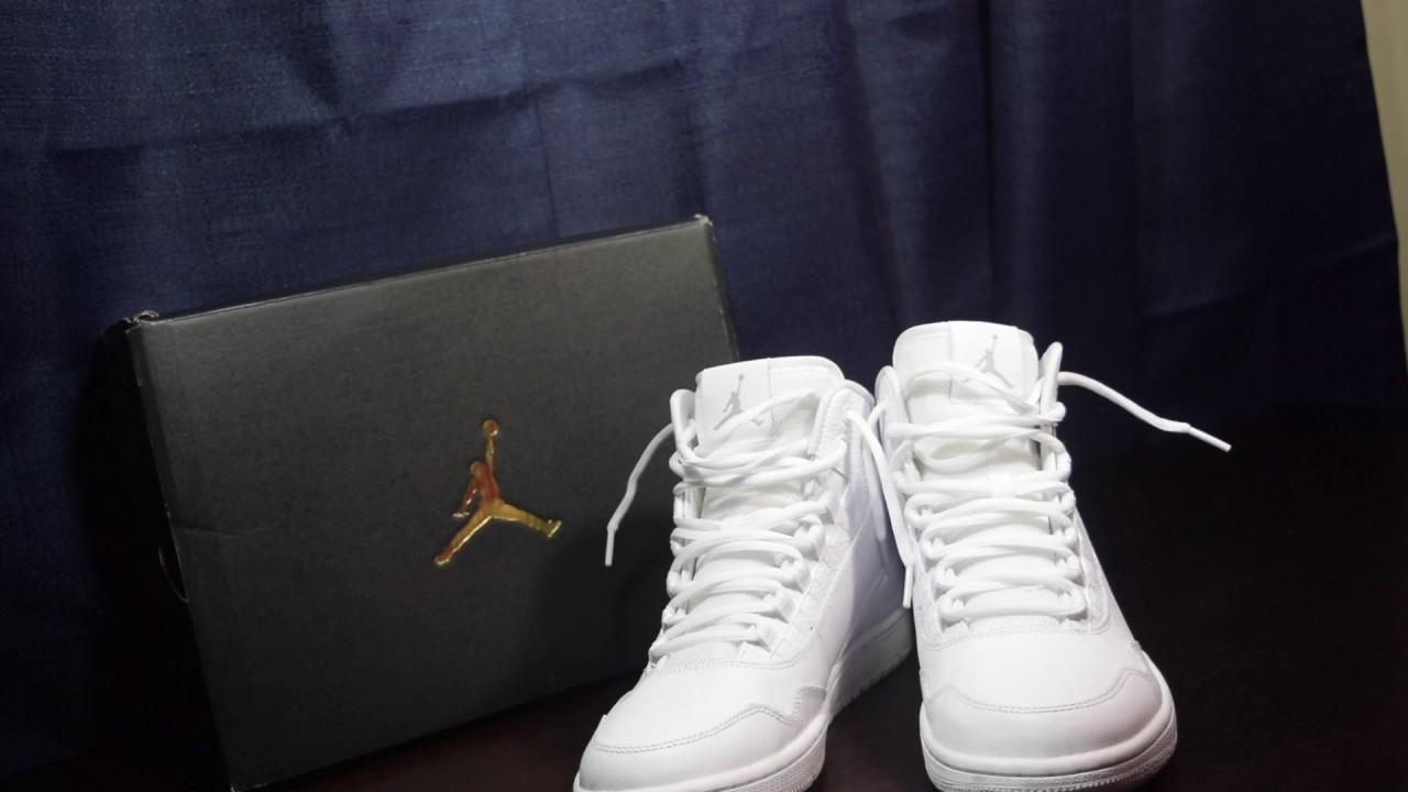 Jordan Executive White Review + ON FOOT