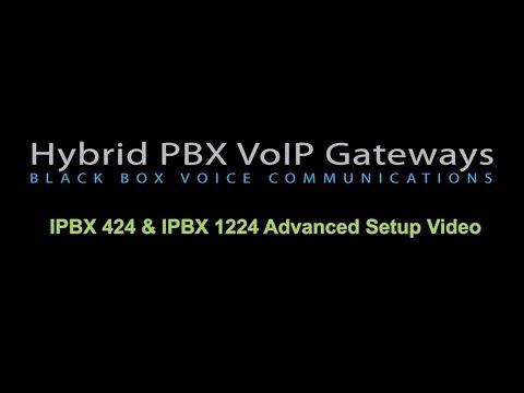 Hybrid PBX VoIP Gateway Advanced Setup