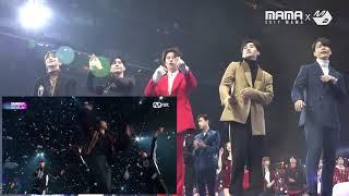 2017mama   Super Junior + Taemin Reaction To Exos Power