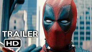 Deadpool 2 Official Trailer #2 (2018) Ryan Reynolds Marvel Movie HD