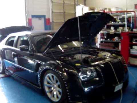 dyno tuned performance 2008 chrysler 300 srt8 makes over. Black Bedroom Furniture Sets. Home Design Ideas