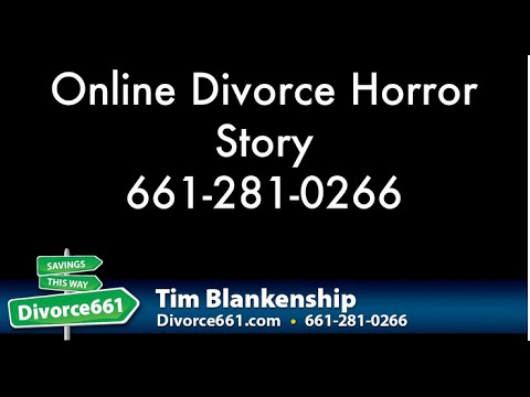 Online Divorce Horror Story | San Fernando Divorce