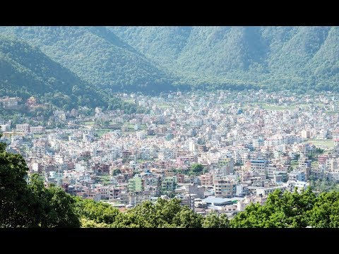 Beauty Of Kathmandu Nepal  |  Kathmandu City View 2017