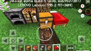 Minecraft PE 0.13.0 : 如何使用陷阱箱?