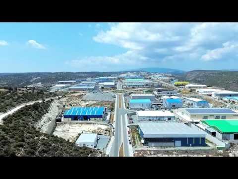 Cyprus, Ypsonas, Industrial Area using DJI Phantom 4