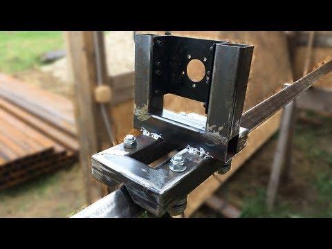 Недорогая самодельная буровая установка . Часть 1. Inexpensive Homemade Drilling Rig. Part 1.