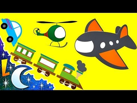 El Sonido de los Transportes para Niños - Videos Infantiles #