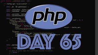 PHP Web Framework Day 65 - FAQ Creator