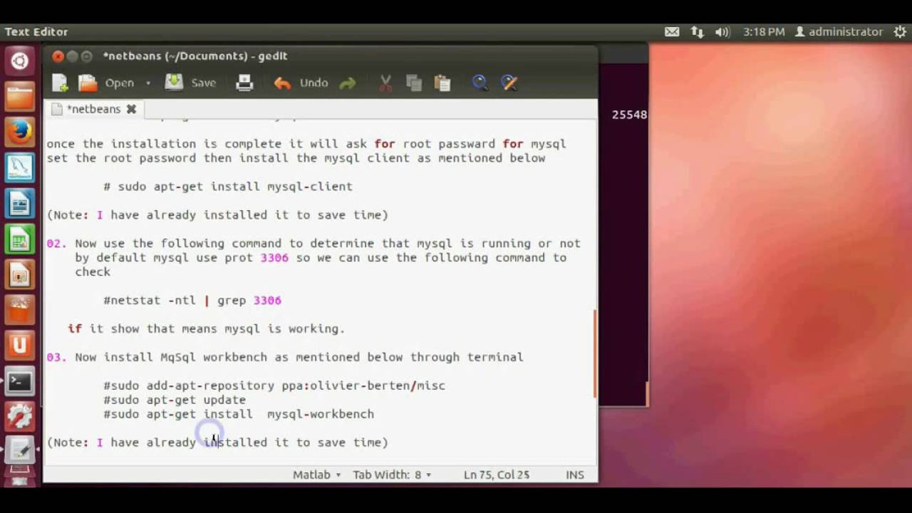 How to Install MySql and use Mysql workbench on Ubuntu