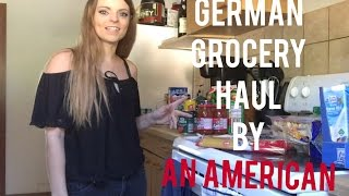 GERMAN GROCERY HAUL BY AN AMERICAN!! (SO CHEAP!!!) NETTO AND EDEKA STORES