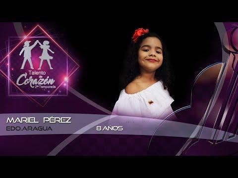 Talento de Corazón Estado Aragua Primer Programa Mariel Perez