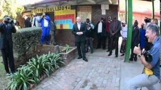 MANDELA DAY 2014  - my modelling moment - peter morey Thumbnail