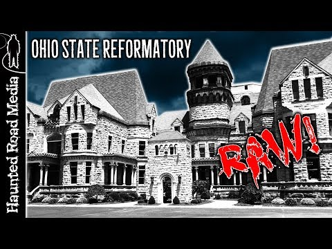 HAUNTED Ohio State Reformatory PARANORMAL INVESTIGATION Raw Footage
