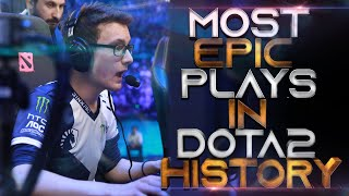 MOST EPIC INDIVIDUAL PLAYS in Dota 2 History - Part 1