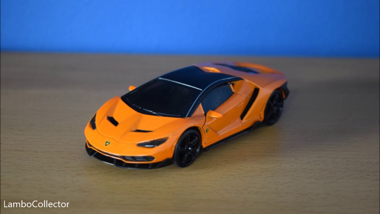 Jada Toys 1 32 Lamborghini Centenario Hyper Spec Orange First One