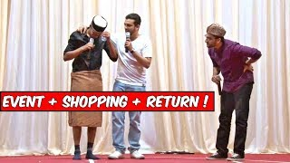 The Baigan Vines Event, Crazy Shopping  Return! (Part 3 of 3) BAHRAIN TRIP