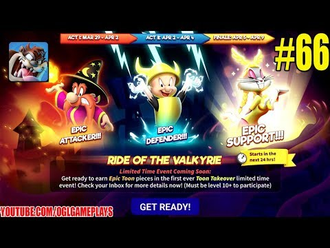 Looney Tunes World of Mayhem Valkyrie Event Gameplay #66
