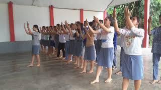 Tim Tari Maengket SMA Negeri 8 Manado
