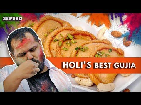 Best Gujiya And Thandai For Holi | Happy Holi 2019 | Delhi Food Reviews