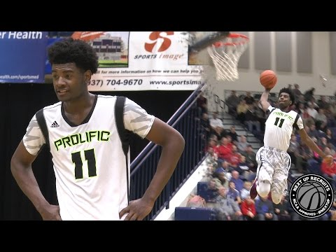 Josh Jackson scores EASY 32 points with Tom Izzo courtside - Flyin