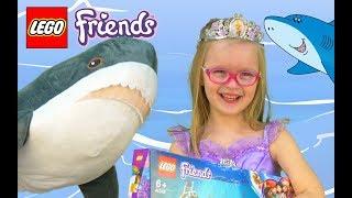 Богдана-Русалочка спасает дельфинов вместе с LEGO Friends!