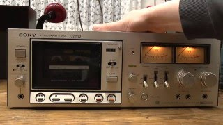 The 1976 Sony TC-229SD Cassette Deck (unrepaired)