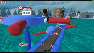 Wipeout Create and Crash / Nintendo Wii / Gameplay FHD #3