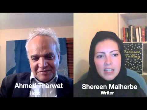 BelAhdan with British Writer Shereen Malherbe , Her New Novel Jasmine Falling