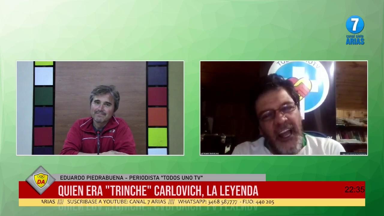 DA   11 mayo 2020 PIEDRABUENA LO PINTA AL TRINCHE CARLOVICH