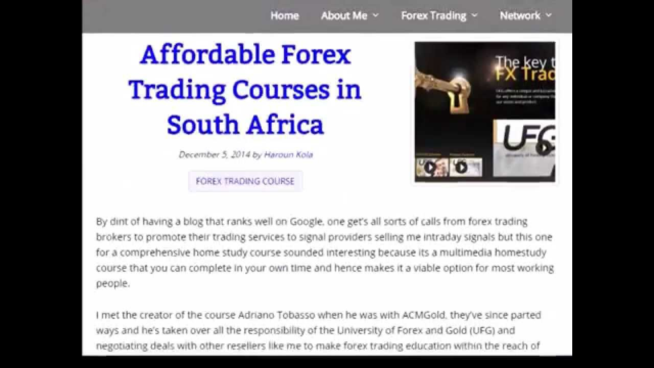 Forex trading academy in south africa