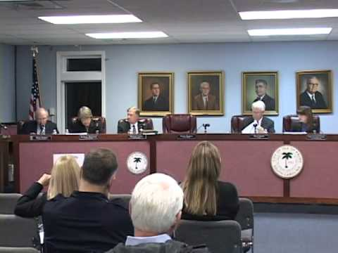 2/22/11, City Council, Isle of Palms, South Carolina