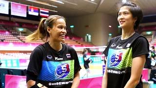 Thinkaow & Apinyapong speak about Team Thailand