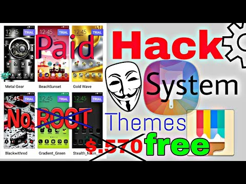 How to get Samsung paid themes for free, 100% working, system paid theme  free hack , best on hindi by kjs PubG Store