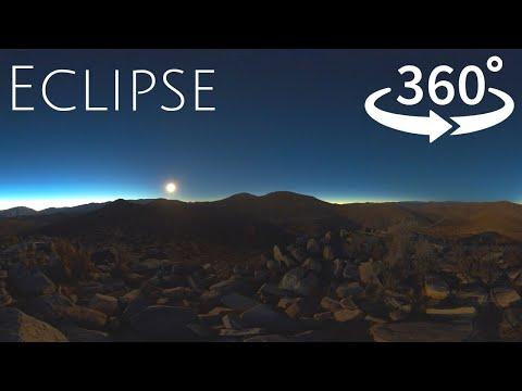 360° 4K Total Solar Eclipse – Atacama Chile 2019