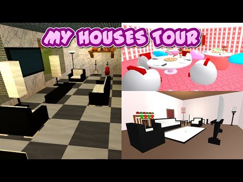 ROBLOX | Work at a Pizza Place, Meep City, & Roblox High School Houses Tour!