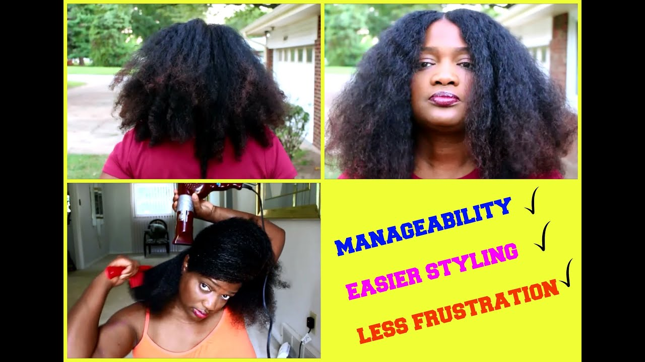blow dried natural hair styles why i became a quot dried quot 4a 4b hair 1598 | maxresdefault