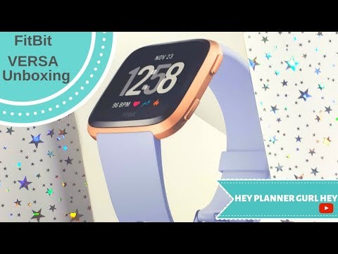 Fitbit VERSA Unboxing and Review 2019!  #Fitbit #FitbitVersa