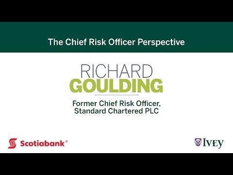 The Chief Risk Officer Perspective: Richard Goulding