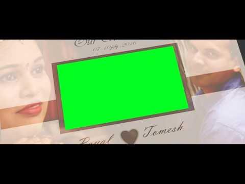 3D wedding Album Intro title template