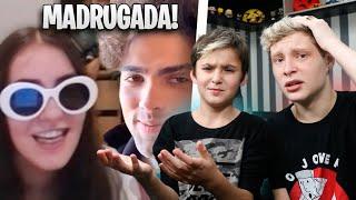 YOUTUBERS FAZENDO COISAS ALEATÓRIAS AS 3 DA MANHÃ NA INTERNET...
