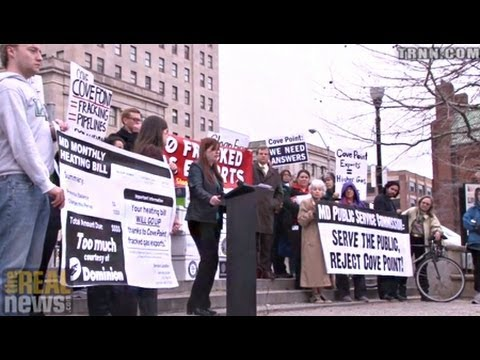 Maryland Residents Voice Opposition to Natural Gas Fracking Export Facility